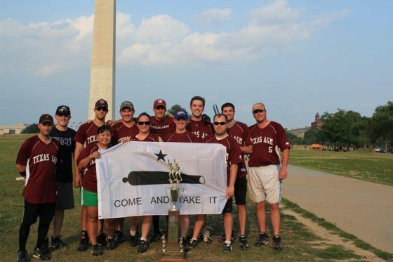 The 2014 DC Aggies Softball Team